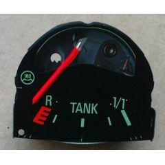 Armaturen Einsatz Audi 50 / VW Polo / Derby * 86 Tankuhr Display grün - VAG VW / Audi 9.73 - 8.81 - Kombi Inst