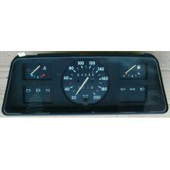 Armaturen Einsatz Opel Corsa A .1 Display weiß 200 km/h / Tacho / Tank Anzeige / Temperatur Anzeige / Tageszäh