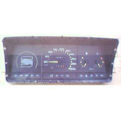 Armaturen Einsatz Seat Ibiza Display weiß 200 km/h / Tacho / Tank Anzeige / Temperatur Anzeige / Tageszähler -