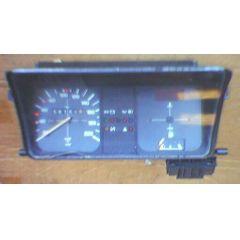 Armaturen Einsatz VW Derby 1 Display weiß 200 km/h / Tacho / Tank Anzeige / Uhr / Temperatur WL / Choke WL - 9