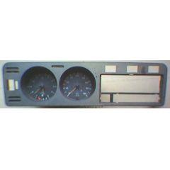Armaturen Einsatz VW Golf 1 - Classik Display weiß 180 km/h / Tacho / Tank Anzeige / Temperatur Anzeige / Uhr