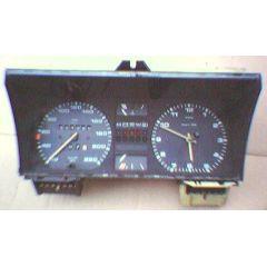 Armaturen Einsatz VW Golf 2 / Jetta 2 Display weiß 200 km/h / Tacho / Tank Anzeige / Temperatur Anzeige + WL /