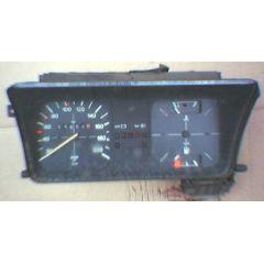 Armaturen Einsatz VW Jetta 1 Display weiß 200 km/h / Tacho / Tank Anzeige / Temperatur Anzeige + WL - 9.73 - 8