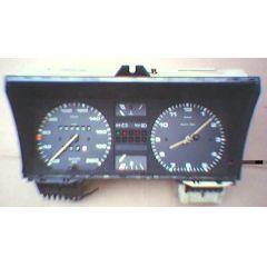 Armaturen Einsatz VW Passat / Santana 32 B Display weiß 200 km/h / Tacho / Tank Anzeige / Temperatur Anzeige +