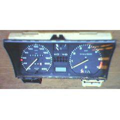 Armaturen Einsatz VW Passat / Santana 32 B Display weiß 220 km/h / Tacho / Tank Anzeige / Temperatur Anzeige +