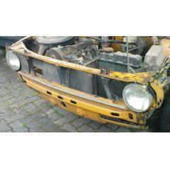 Frontblech Front Audi 80 / VW Passat 82 / 32 - 9.71 - 8.78 Abschnitt orange - Reparaturblech / Karosserieteil