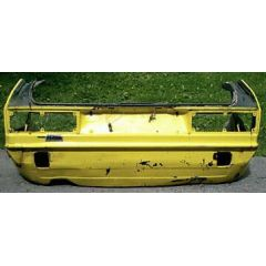Heckblech Heckteil VW Scirocco 1 53 - 9.73 - 8.81 - Abschnitt gelb - Reparaturblech / Karosserieteil - gebrauc