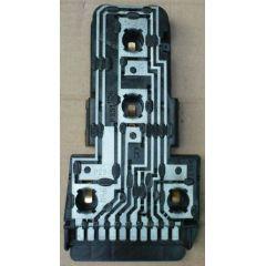 Rücklicht / Rückleuchte / Heckleuchte Audi Coupe 81 .1 / 85 / Q / Gehäuse / Leuchtmittelhalter / Platine R - 9