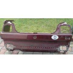 Heckblech VW Jetta 2 19 - 9.83 - 8.91 - Abschnitt rot met. - Reparaturblech / Karosserieteil - gebraucht