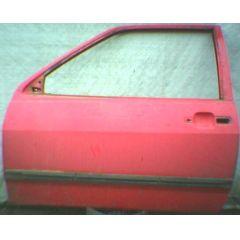 Tür VW Polo / Derby 2 86C .2 2 / 3T / L rot - 9.90 - 8.94 - gebraucht