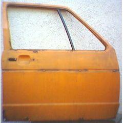 Tür VW Golf 1 / Jetta 1 / Caddy 14 / 16 / 17 .2 4 / 5T / VR orange - 9.77 - 8.83 - gebraucht