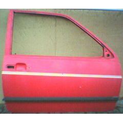 Tür VW Polo / Derby 2 86C .1 2 / 3T / R tornadorot - 9.83 - 8.90 - gebraucht