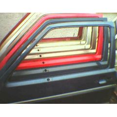 Tür VW Golf 2 / Jetta 2 19 .1 2 / 3T / L braun met. - 9.83 - 8.87 - gebraucht