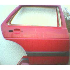 Tür VW Golf 2 / Jetta 2 19 4 / 5T / HR burgunder rot - 9.83 - 8.91 - gebraucht