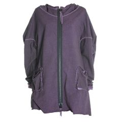 Barbara Speer Sweat-Jacke mit Kapuze