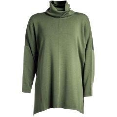 Lagenlook Pullover khaki Barbara Speer