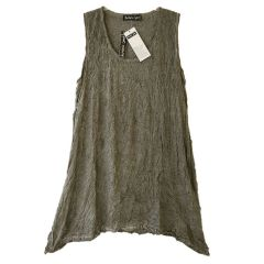 Barbara Speer - Lagenlook Shirt taupe