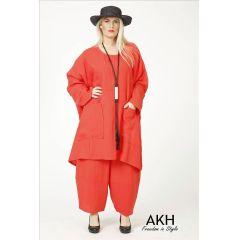 AKH Fashion Big-Shirt coralle Übergröße