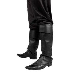 Stulpen Stiefelstulpen schwarz - Einheitsgröße - sehr edel