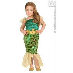 Kostüm Meerjungfrau (Kinder) - Nixe - sehr schön - Körpergröße ca. 98 cm oder 104 cm