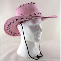 Hut - Cowboyhut pink (Erwachsene) - SONDERPREIS