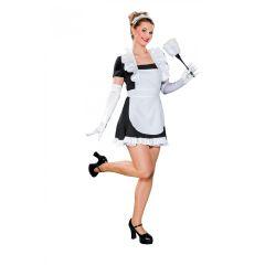 Kostüm Stubenmädchen - Damenkostüm Dienstmagd - verschiedene Größen