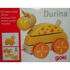 Ziehtier Pferd Durina, gelb