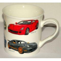 Becher für Männer, Design Super Car