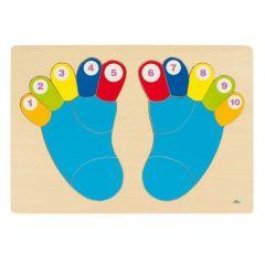 Füße, Puzzle 16-teilig