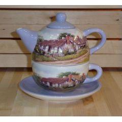 Tea for One Set, Dekor Cottage