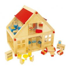 Puppenhaus Wohnhaus