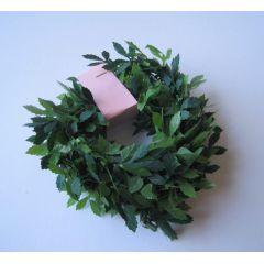 Puppenhaus Girlande Buchsbaum grün 100 cm Garten Dekoration Miniatur 1:12
