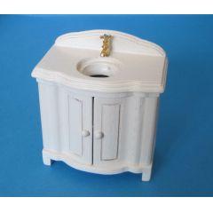 Badezimmer Waschtisch Waschbecken  Puppenhaus Möbel Miniaturen 1:12