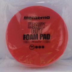 Menzerna Polierschaum Heavy Cut Foam Pad rot Ø 180 mm