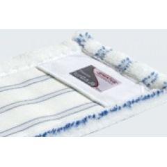 Sprintus Mikrofasermop Premium weiss/blau 40 cm Taschenmop