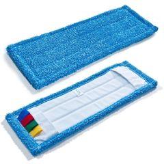 Mikrofasermopp Dust Exit mit Hygienecode 40 cm
