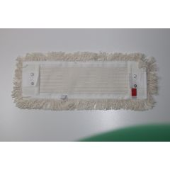 Baumwollmopp 40 cm weiß mit Lasche und Tasche