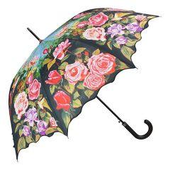 Von Lilienfeld Regenschirm Stockschirm Rosengarten Damen