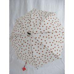 Esprit Regenschirm Stockschirm Dots beige