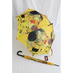 Happy Rain Automatik Regenschirm Klimt Stockschirm
