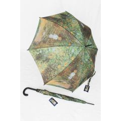 Happy Rain Stockschirm Automatik Regenschirm Monet
