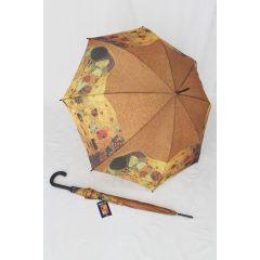 Happy Rain Regenschirm Stockschirm Klimt II