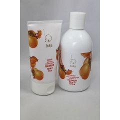 Kakifrucht Shampoo u.Spülung für strapaziertes Haar