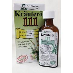 Dr. Förster Kräuteröl Nr.111  zum einreiben 100 ml