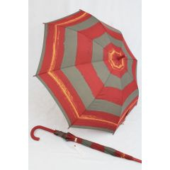 Esprit Stockschirm rot gestreift Regenschirm