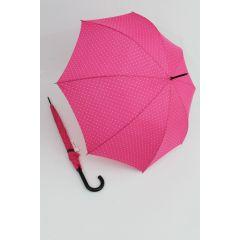 Happy Rain Regenschirm Stockschirm Dots pink