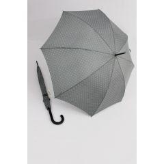 Happy Rain Regenschirm Stockschirm Dots grau