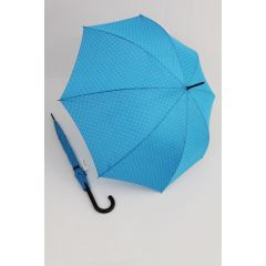 Happy Rain Regenschirm Stockschirm Dots hellblau