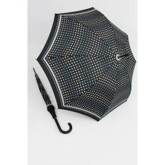 Happy Rain  Regenschirm Punkte Klassik 02 Stockschirm für Damen