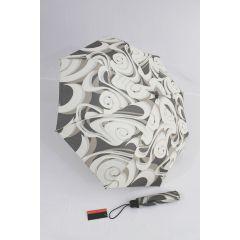 Pierre Cardin Automatik Regenschirm beige grau 03 Tourbillon